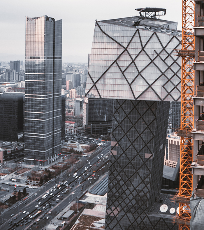 The New CCTV Tower - China Tour